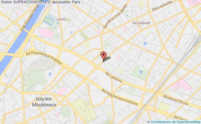 plan association Supraconscience PARIS