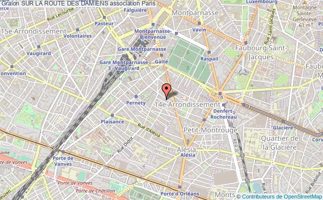 plan association Sur La Route Des Damiens