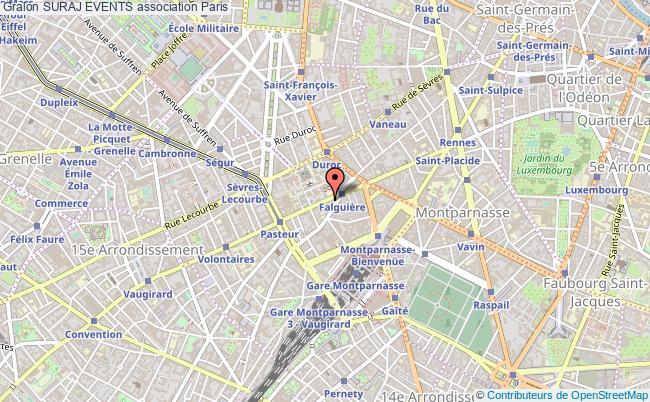 plan association Suraj Events Paris