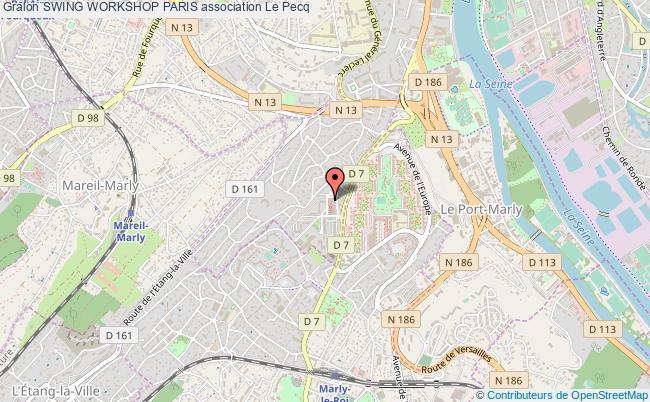 plan association Swing Workshop Paris Pecq