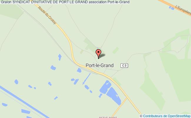 plan association Syndicat D'initiative De Port Le Grand