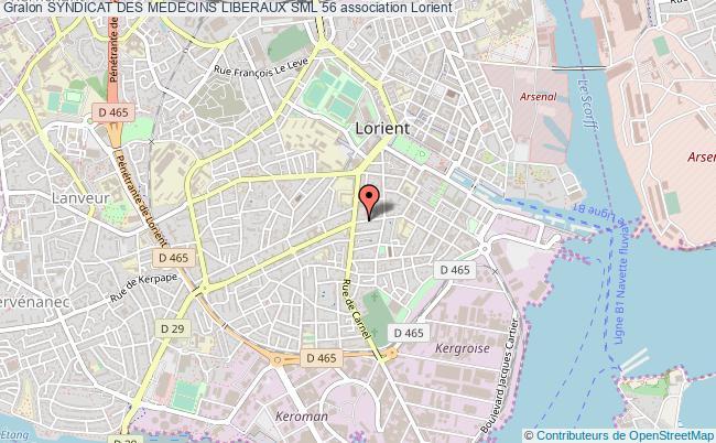 plan association Syndicat Des Medecins Liberaux Sml 56