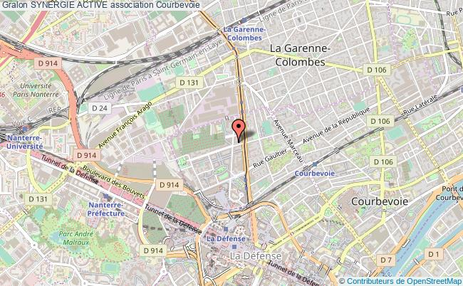 plan association Synergie Active Courbevoie