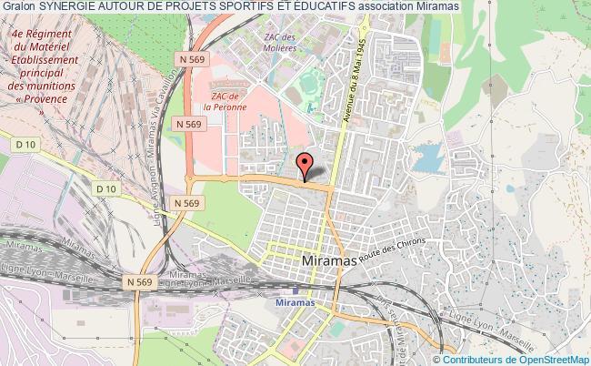 plan association Synergie Autour De Projets Sportifs Et Éducatifs