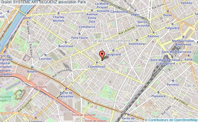 plan association Systeme Art'sequenz Paris