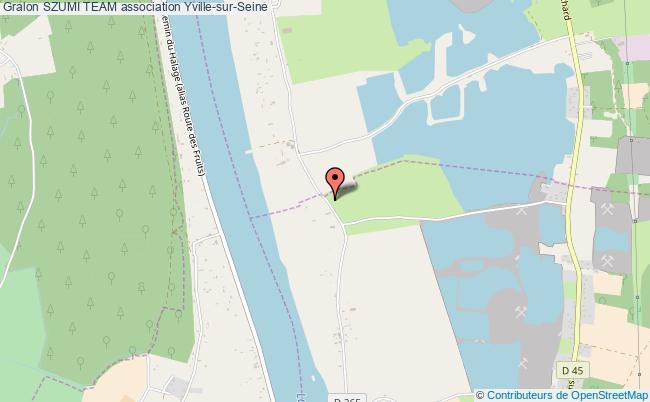 plan association Szumi Team Yville-sur-Seine