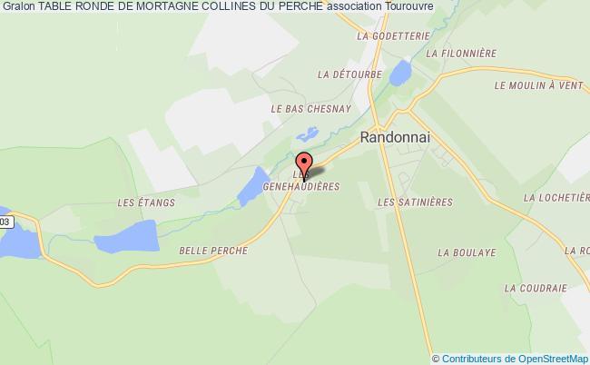 plan association Table Ronde De Mortagne Collines Du Perche