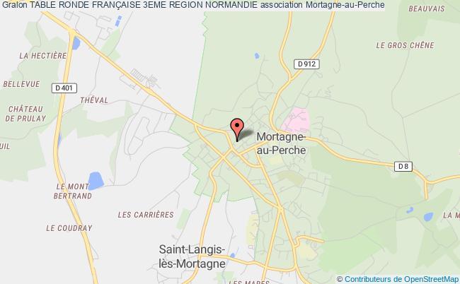 plan association Table Ronde FranÇaise 3eme Region Normandie