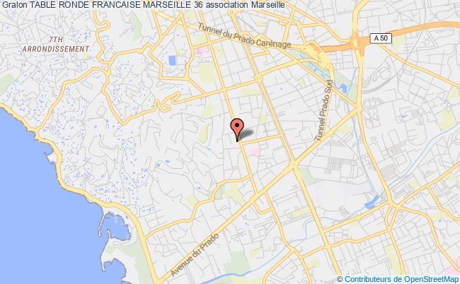 plan association Table Ronde Francaise Marseille 36