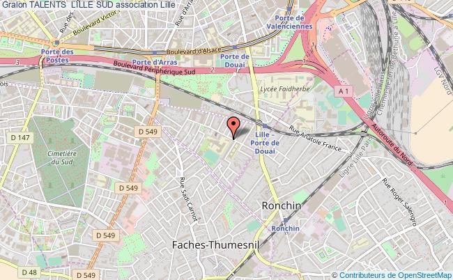 plan association Talents  Lille Sud