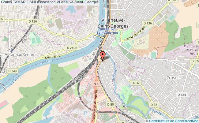 plan association Tamarionni Villeneuve-Saint-Georges