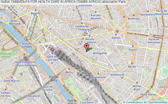 plan association Tambadufa For Health Care In Africa (tamba Africa) Paris