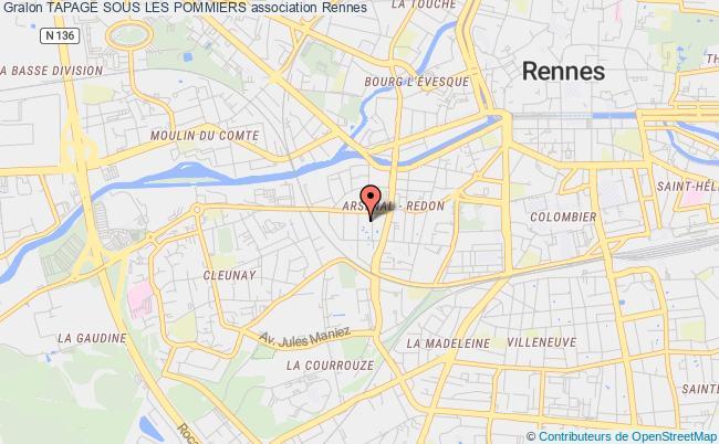 plan association Tapage Sous Les Pommiers Doué-en-Anjou
