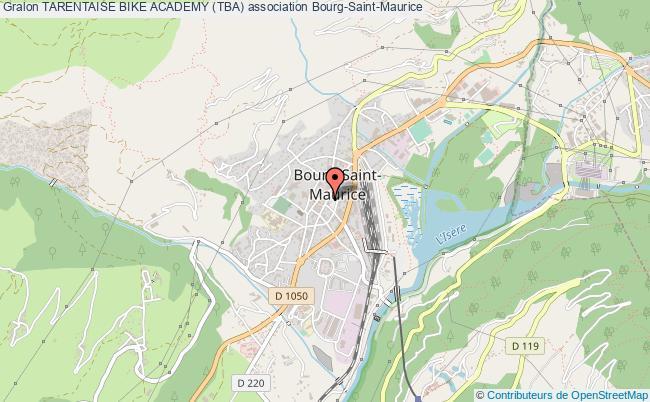 plan association Tarentaise Bike Academy (tba)