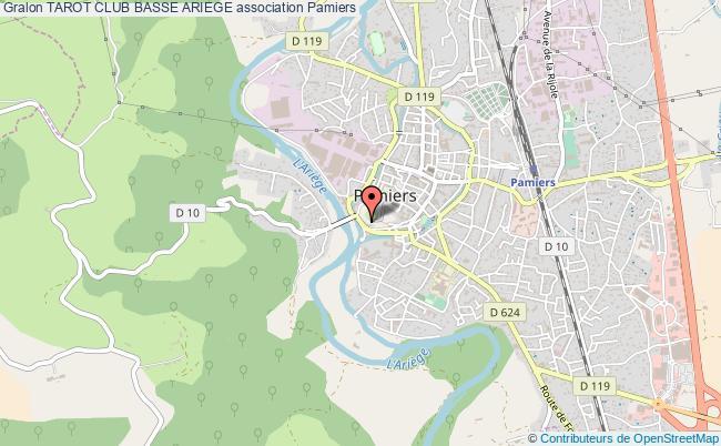plan association Tarot Club Basse Ariege
