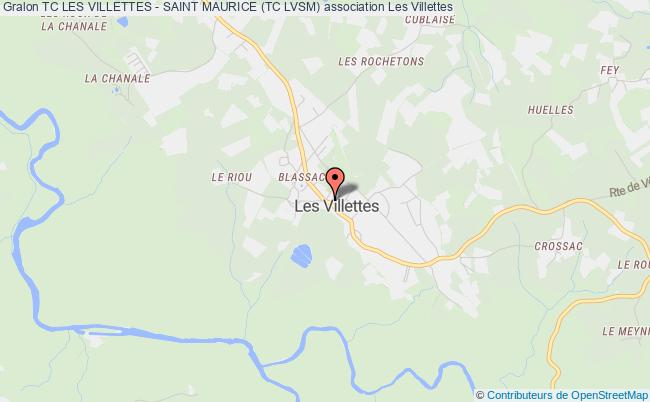 plan association Tc Les Villettes - Saint Maurice (tc Lvsm) Les Villettes