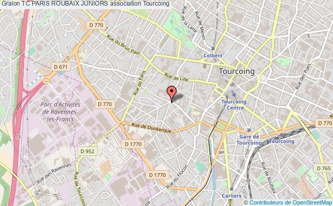 plan association Tc Paris Roubaix Juniors