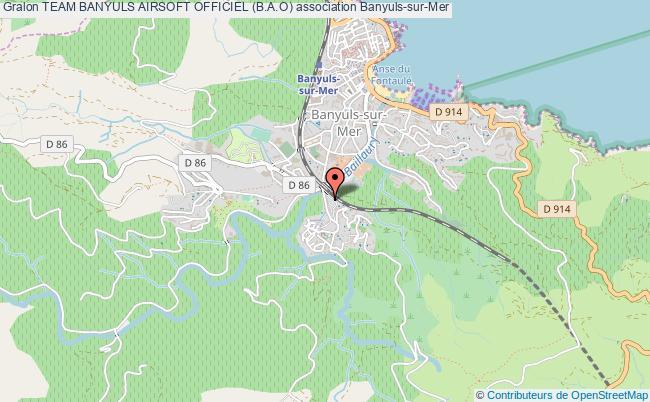 plan association Team Banyuls Airsoft Officiel (b.a.o)