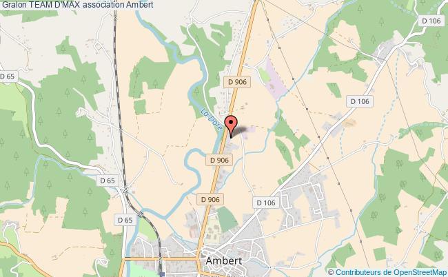 plan association Team D'max Ambert