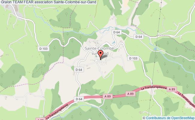 plan association Team Fear Sainte-Colombe-sur-Gand