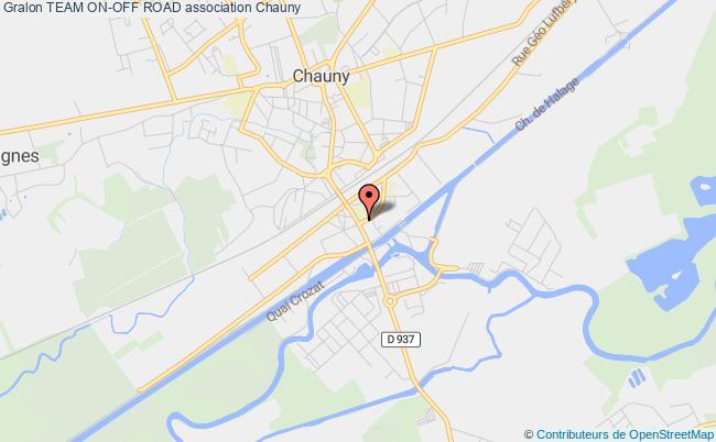 plan association Team On-off Road Chauny
