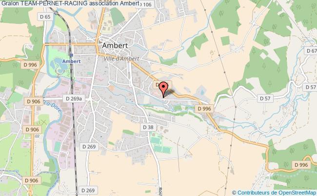 plan association Team-pernet-racing Ambert