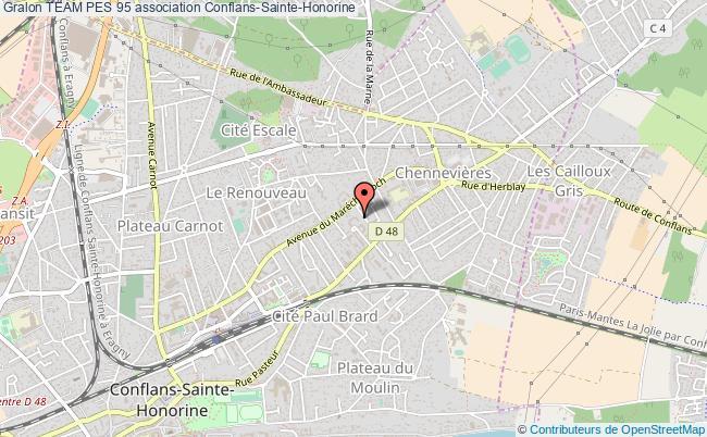 plan association Team Pes 95 Conflans-Sainte-Honorine