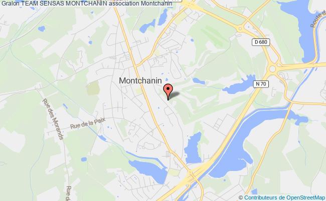 plan association Team Sensas Montchanin
