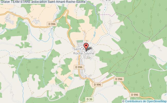 plan association Team Stars Saint-Amant-Roche-Savine