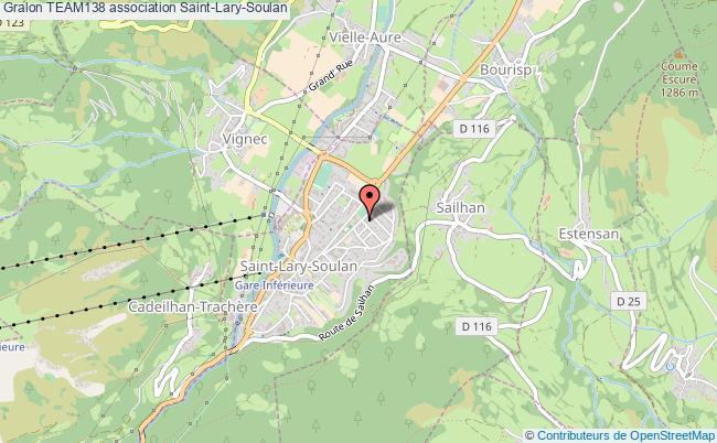 plan association Team138 Saint-Lary-Soulan