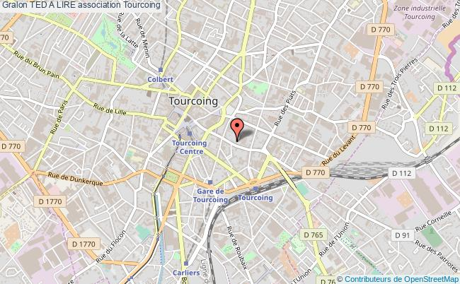 plan association Ted A Lire Tourcoing