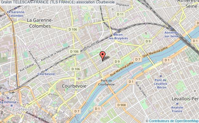 plan association Telescan-france (tls France) Courbevoie