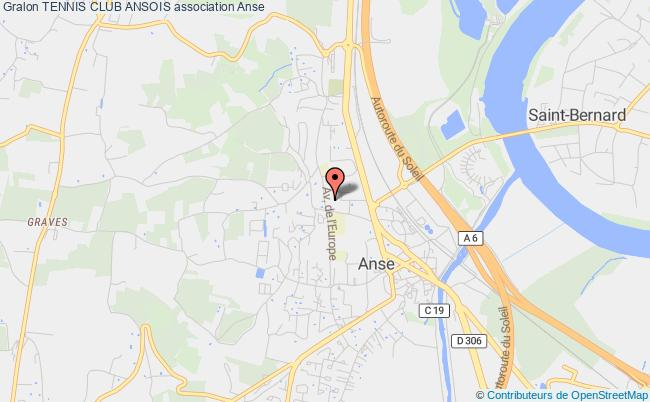 plan association Tennis Club Ansois Anse
