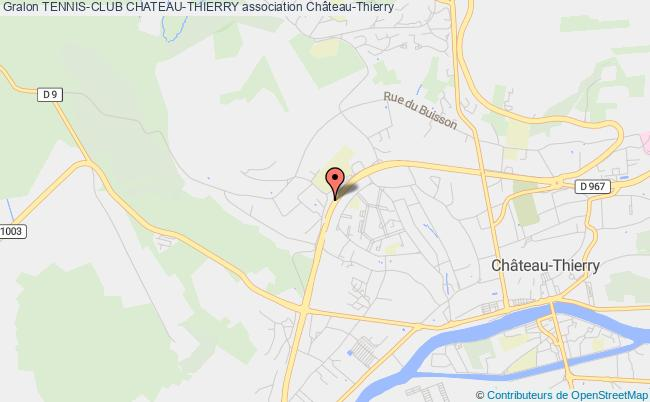 plan association Tennis-club Chateau-thierry