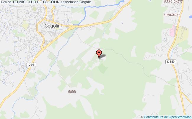 plan association Tennis Club De Cogolin