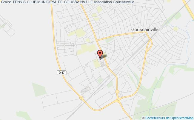 plan association Tennis Club Municipal De Goussainville Goussainville