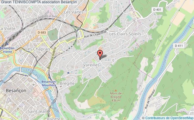 plan association Tenniscompta Besançon