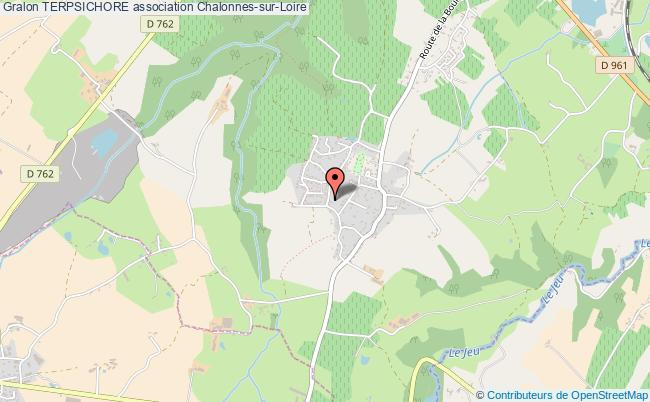 plan association Terpsichore Chalonnes-sur-Loire