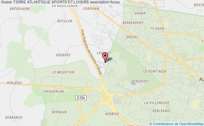 plan association Terre Atlantique Sports Et Loisirs