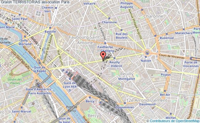 plan association Terristorias Paris