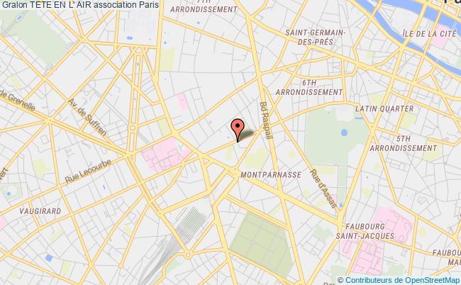 plan association Tete En L' Air Paris