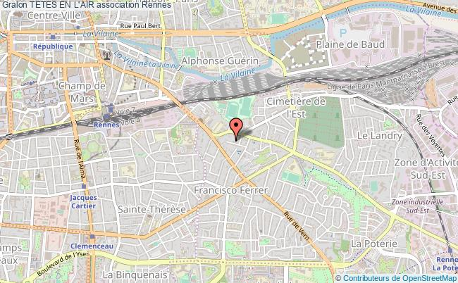 plan association Tetes En L'air Rennes