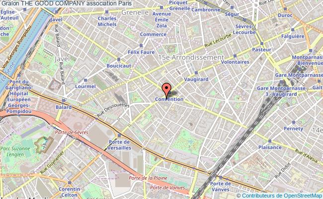 plan association The Good Company Paris