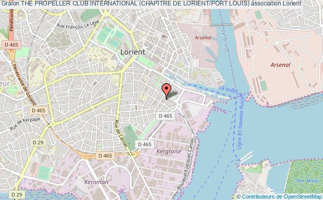 plan association The Propeller Club International (chapitre De Lorient/port Louis)