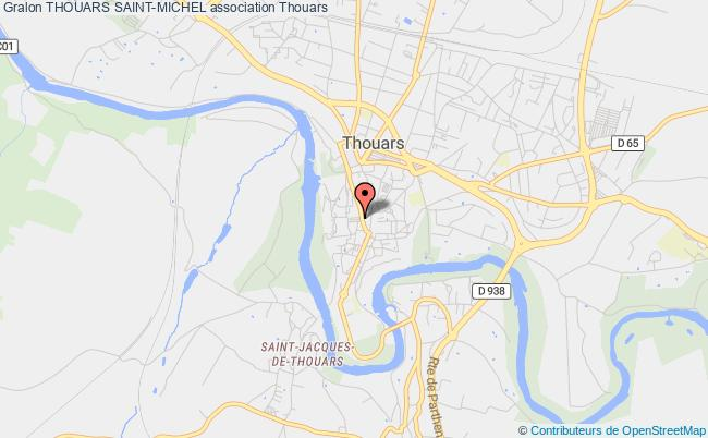 plan association Thouars Saint-michel
