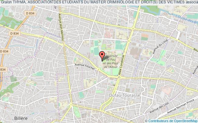 plan association Thyma, Association Des Etudiants Du Master Criminologie Et Droit(s) Des Victimes