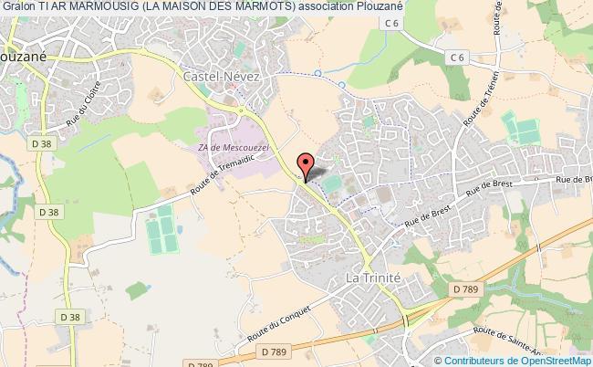 plan association Ti Ar Marmousig (la Maison Des Marmots)
