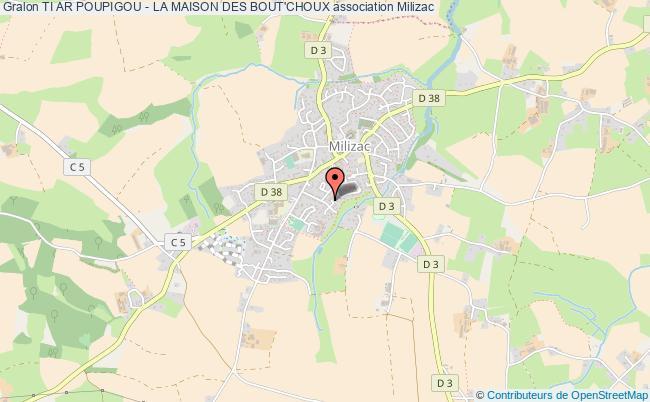 plan association Ti Ar Poupigou - La Maison Des Bout'choux