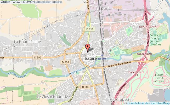 plan association Togo Louvon Issoire