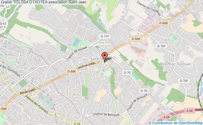 plan association Tolosa Otxotea